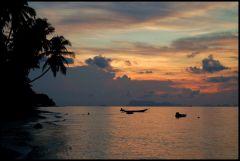 Solnedgång i Bang Por