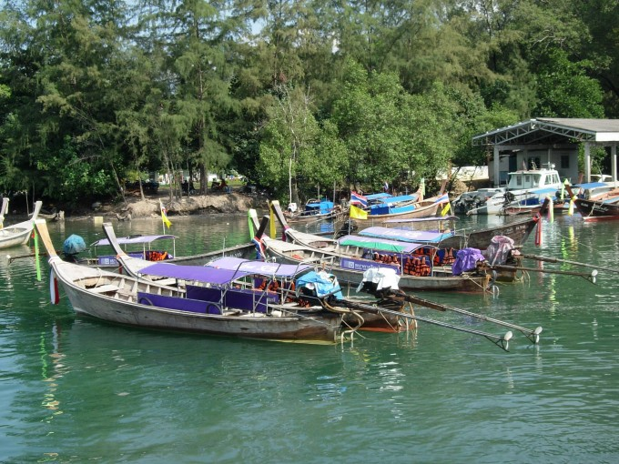 Longtailbåtar