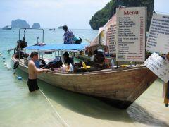 Mat och dryck på Phra Nang beach