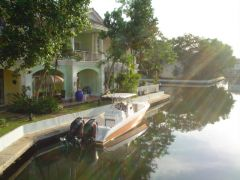 Hamnen i Phuket Town