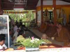 En söndag i templet