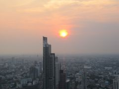 Solnedgång på Lebua