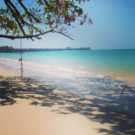 White sand beach (Ao Tong ), Khao Lak