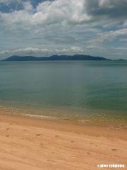 Mae Nam Beach..ön ni ser är Koh Phangan