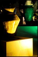 Vaser på flott resort