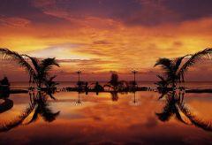 Sunset at Noble House, Koh Lanta