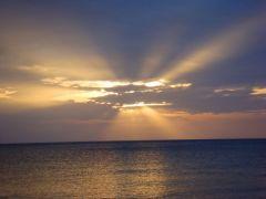 Sol i moln Koh Lanta