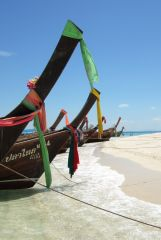 Krabi, longtailboats