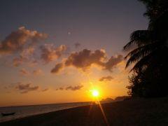 Solnedgången i Koh Phangan