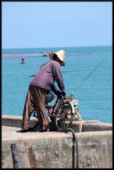 Fiskare vid Thongsala