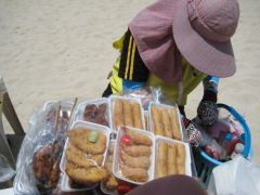Beach food i Patong
