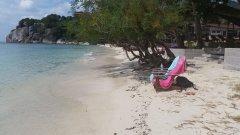 Stranden sidan om Haad rin